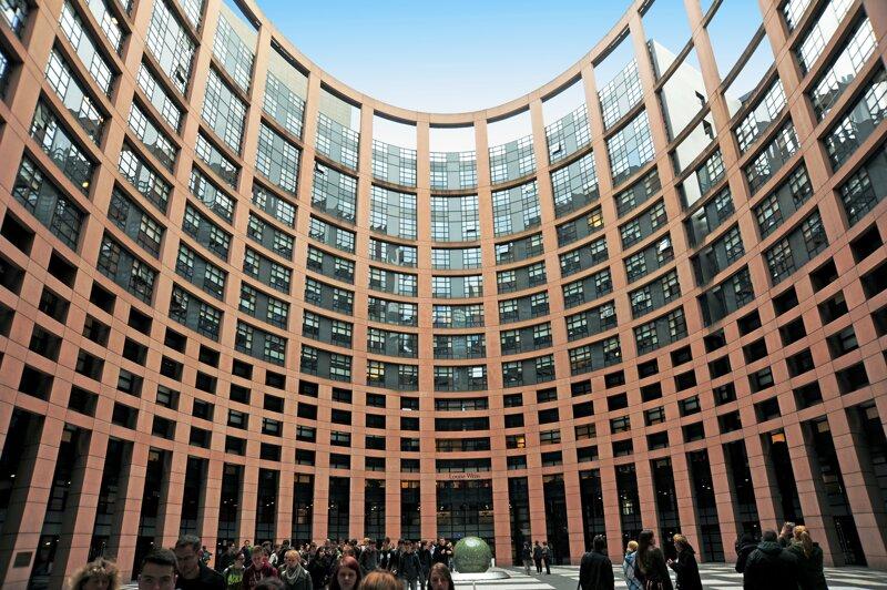 Europäisches Parlament von innen