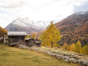 Herbst in Saas-Fee  c  PPR Saas-Fee Christof R  Schmidt