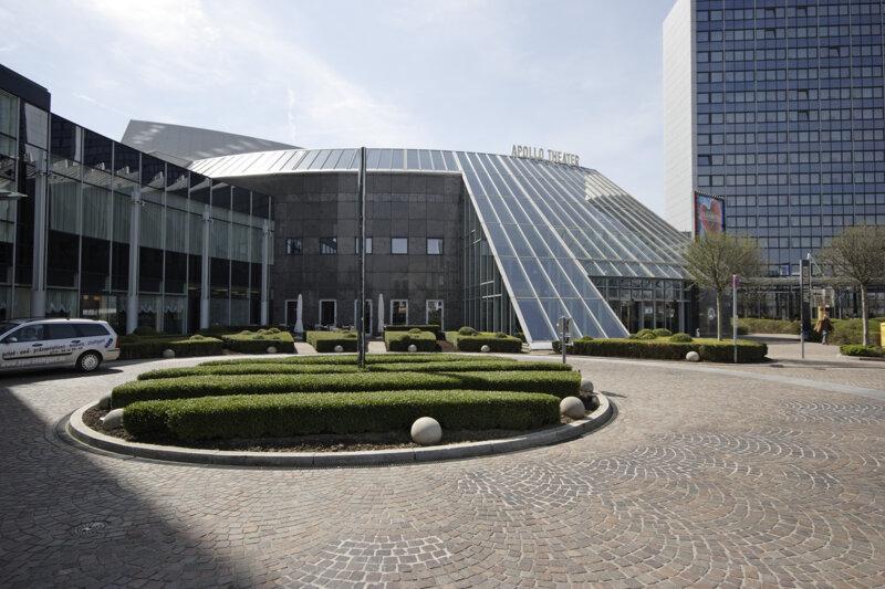 Apollo Theater in Stuttgart von außen