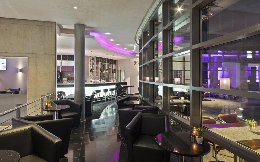 Innside München Neue Messe Bar Lounge