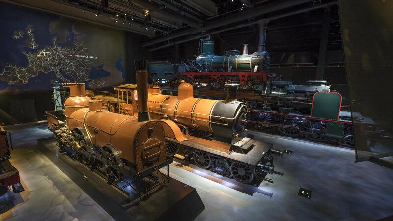 Ausstellung Train World