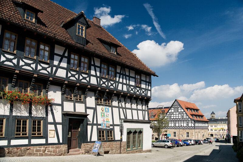 Lutherhaus in Eisenach Außenansicht