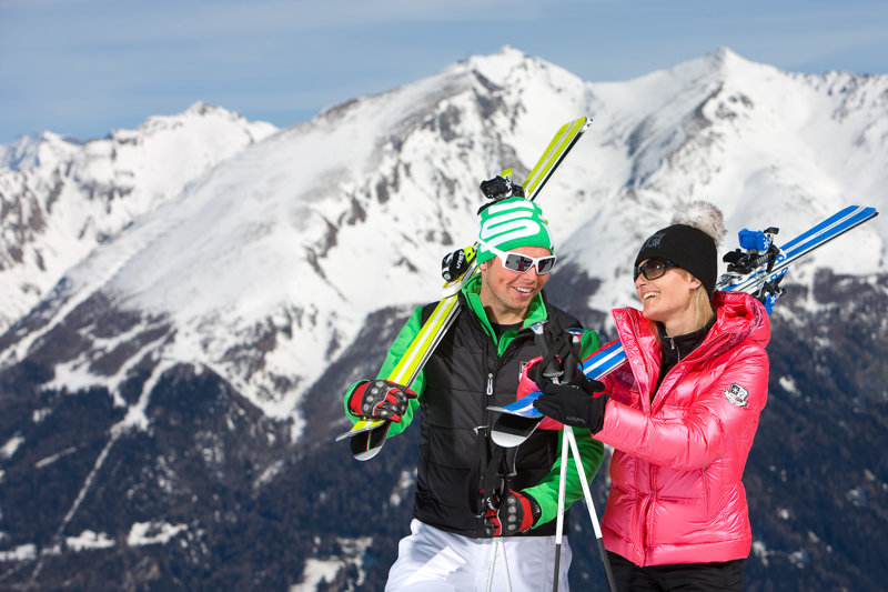 Skifahrer am Rosskopf
