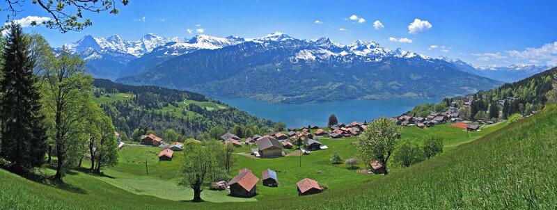 Panoramabild Beatenberg