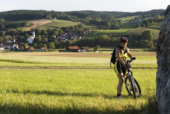 Bad Füssing Natur Radfahren