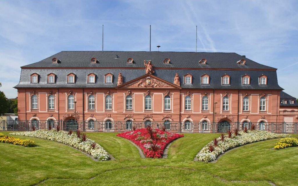 Gebäude des Langtags in Mainz