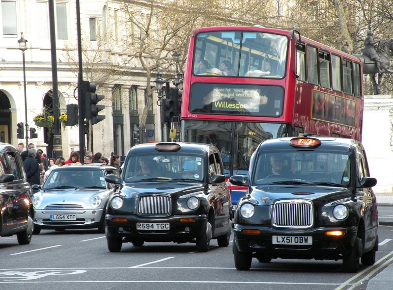 Straßenverkehr in London