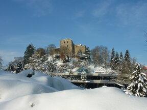 Burg Schnee