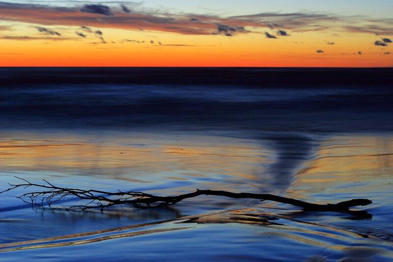 Ostseeküste am Abend ohne c pixabay