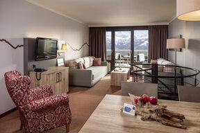Komfort Maisonette Wohnzimmer