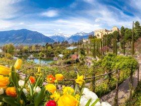Gesamtansicht c die Gärten von Schloss Trauttmansdorff