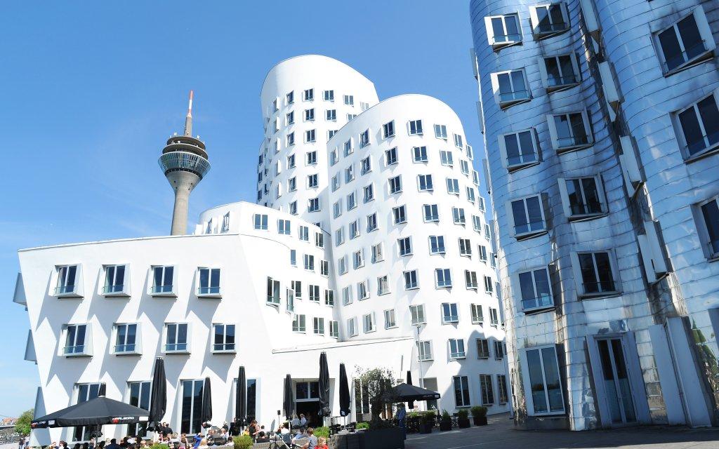 Häuser des Medienhafen Düsseldorf