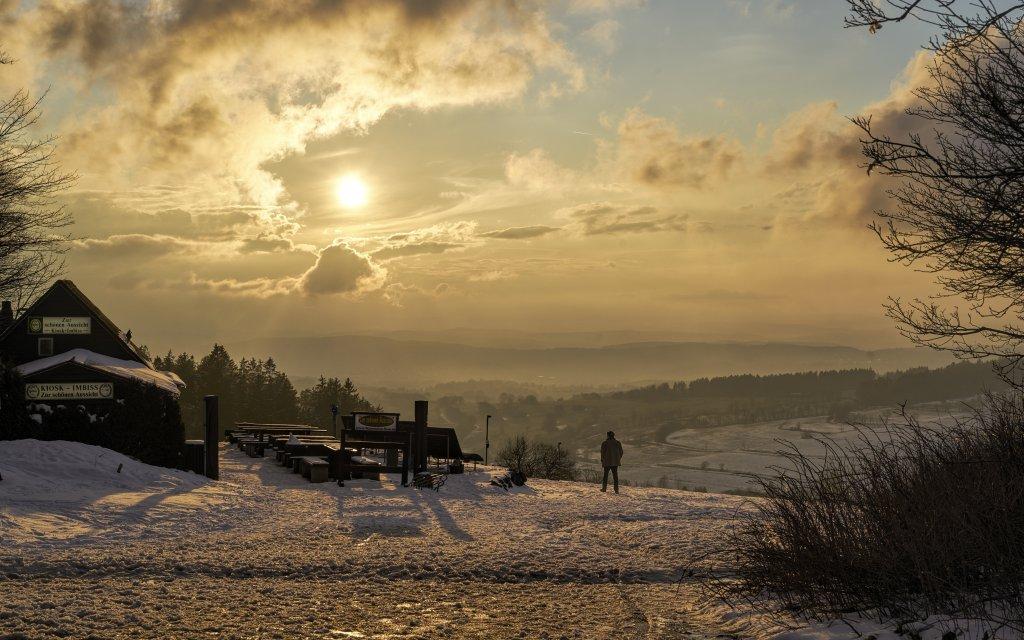 Der Vogelsberg im Winter