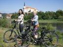Radtour mit Bier, Brücken und böhmischen Burgen