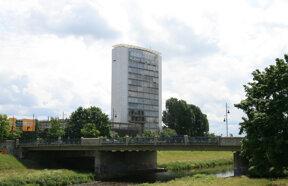 burda media tower mit kinzigbruecke ©Stadt Offenburg