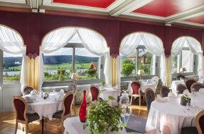 Restaurant Le Lac vue lac (Pat.Sch.)