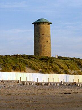 Wasserturm in den Dünen