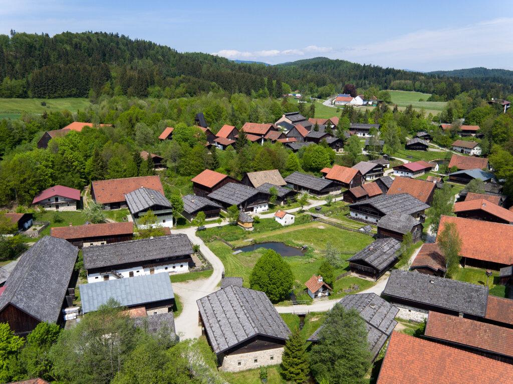 ver sicht Dorf c Museumsdorf Bayerischer Wald
