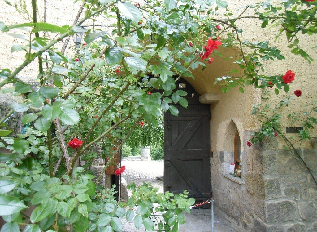 Roseburg, Blick in den  Innenhof