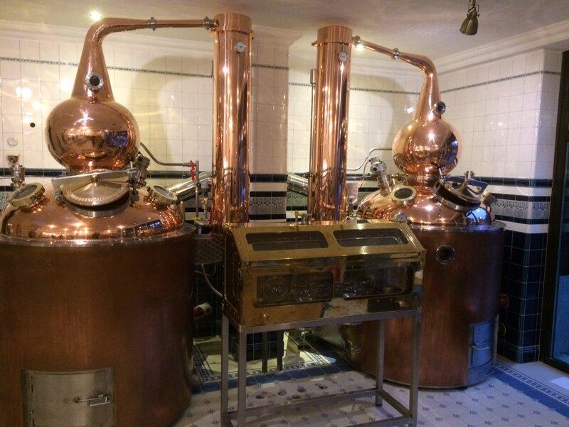 Destillierapparat in der Hammerschmiede Zorge
