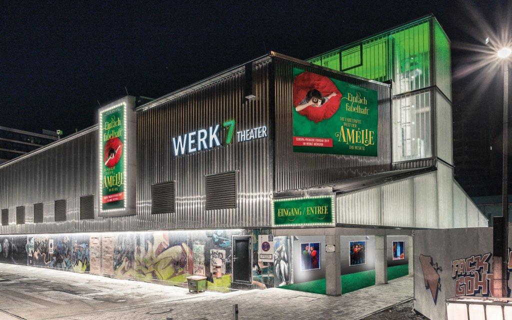 Eingang Werk7 München zu