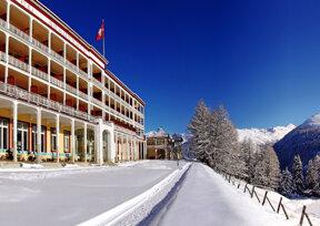 Schatzalp Winter Panorama