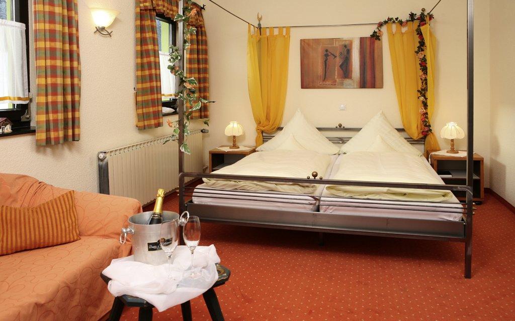 Mitterfirmiansreut Hotel Sportalm Zimmer Doppelzimmer