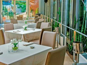 Restaurant-Nahaufnahme