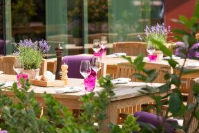 Restaurant Terrasse draussen