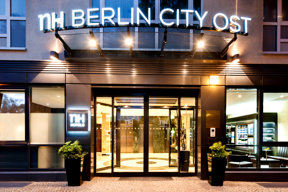 Eingang NH Berlin City Ost