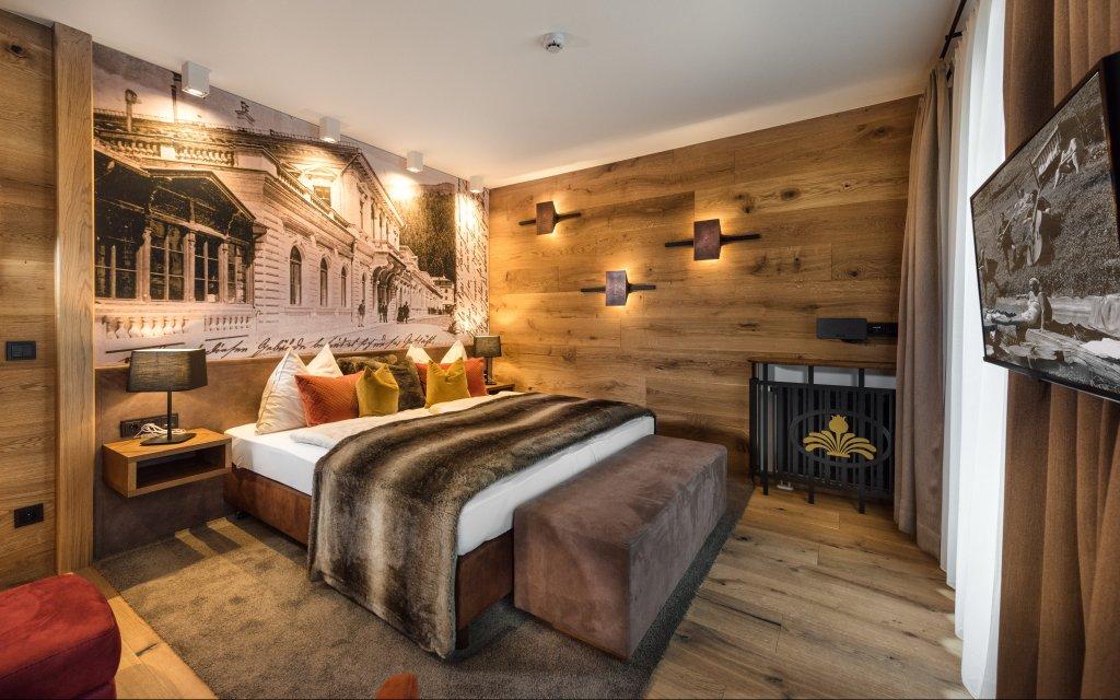 Bad Gastein Mondi Aparthotel Bellevue Zimmer Doppelzimmer