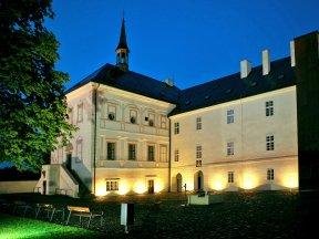 Schloss Hotel svijany-Abend