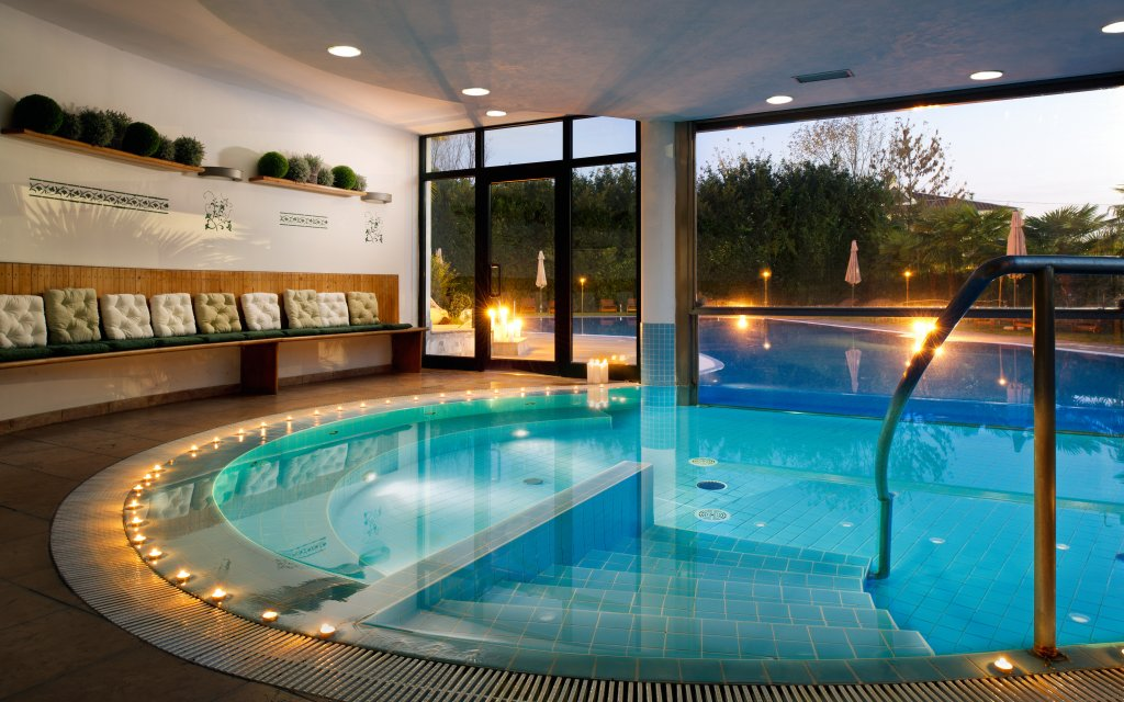 Treviso Villa Pace Park Hotel Bolognese Pool