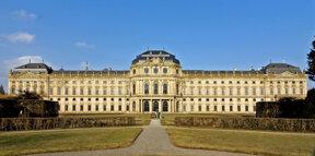 Residenz mit Hofgarten 03 c Würzburg