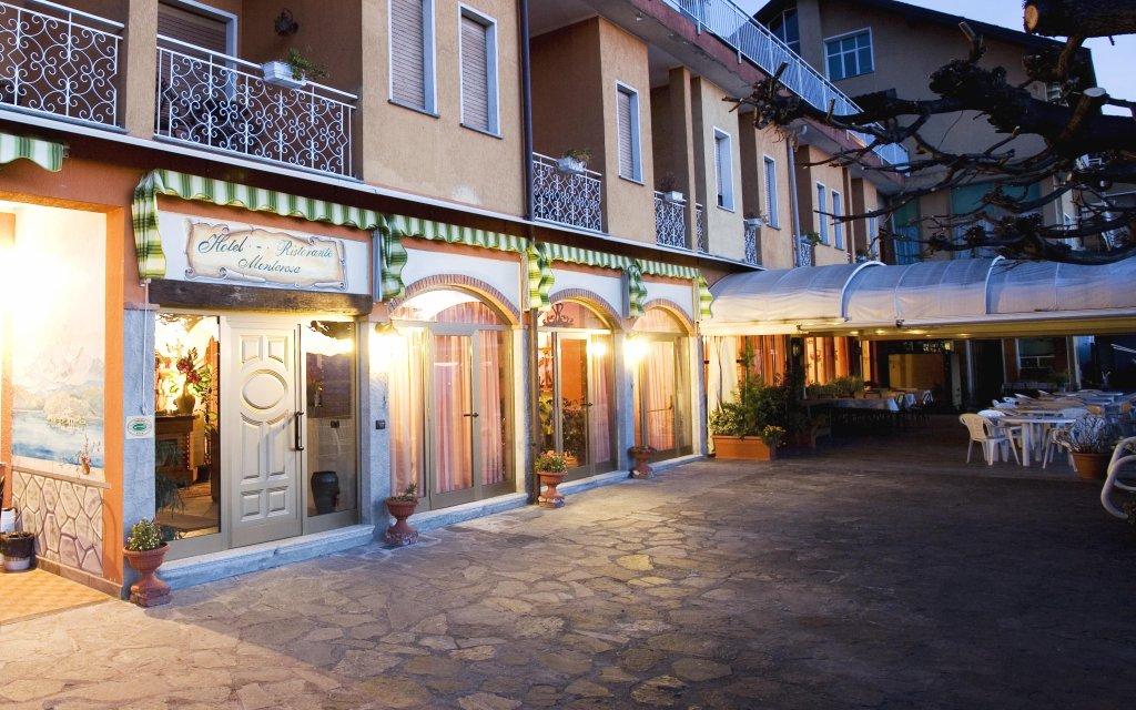 Albergo Monterosa Ameno Hof Außenansicht