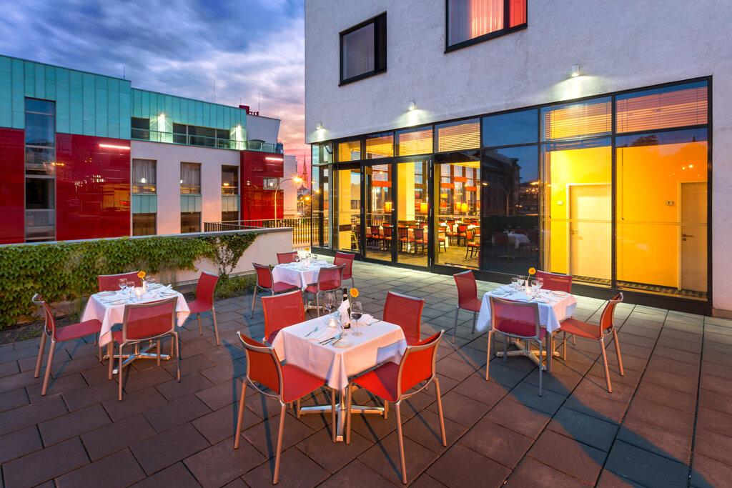 Angelo by Vienna House Pilsen Aussenansicht Restaurant