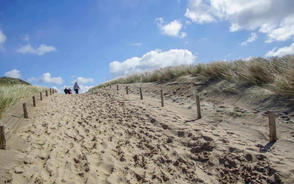 Strandaufgang Egmond aan Zee