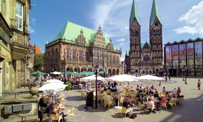Marktplatz und Rathaus Bremen