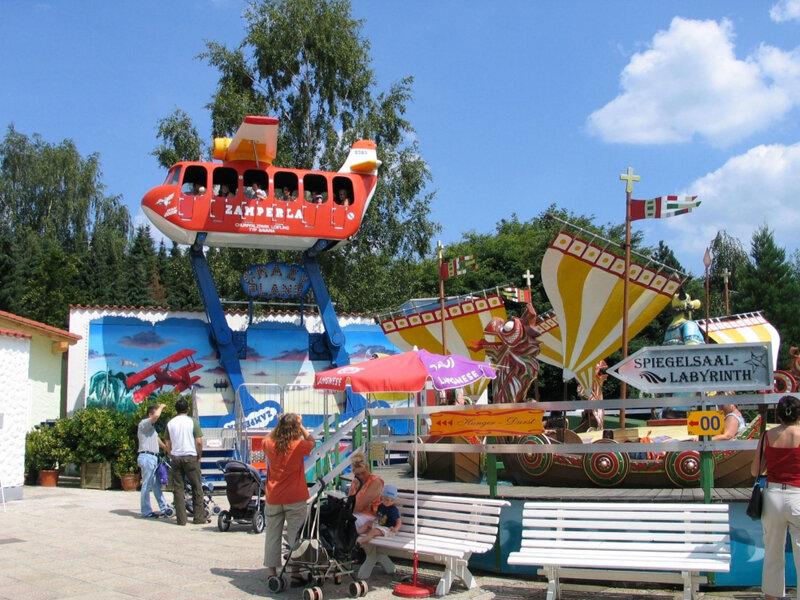 Churpfalzpark Crazy Plane