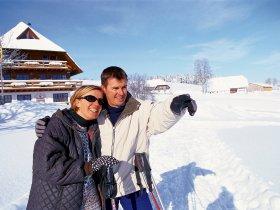 Winterwanderer im Hochschwarzwald C Hochschwarzwald Tourismus GmbH