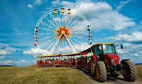 Riesenrad im Sonnenlandpark Lichtenau