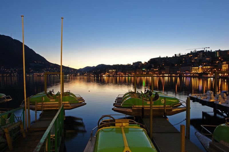 Lugano Hafen