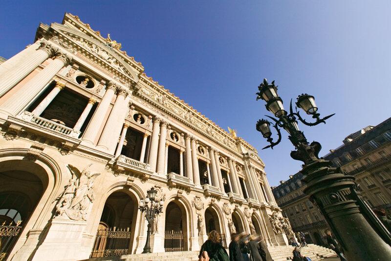 Opéra Garnier in Paris