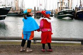 Colijnsplaat, Warten auf Sinterklaas c www.laatzeelandzien.nl Hans Schalk