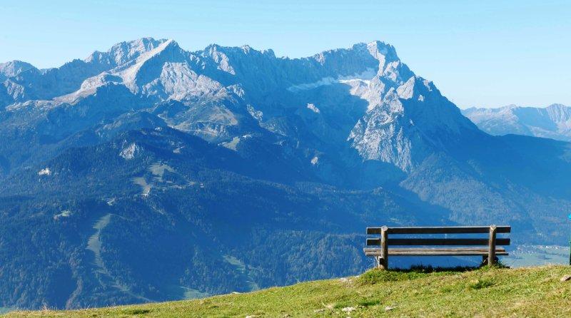 Bergpanorama Oberbayern