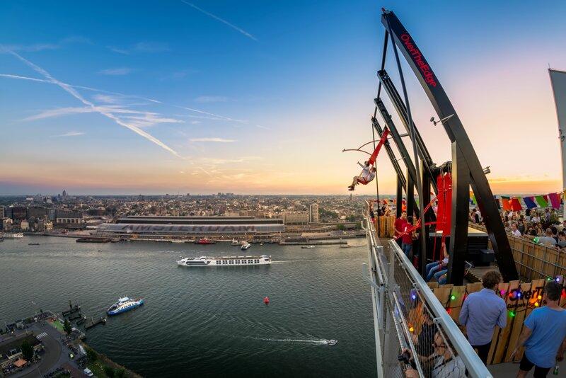 A'DAM LOOKOUT Amsterdam spektakuläre Attraktion
