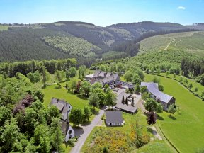 Luftbild Berghotel Hoher Knochen 2019
