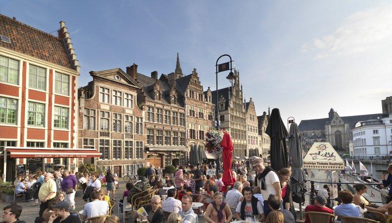 Marktplatz Gent