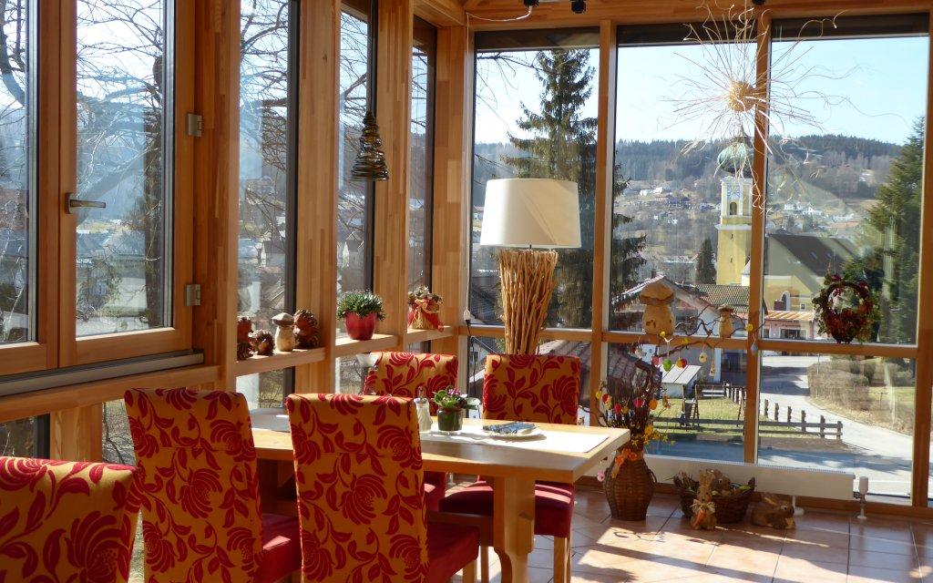 Frauenau Landgasthof Hubertus Wintergarten Restaurant