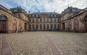 Palais Rohan, cour intérieur c OTSR Philippe de Rexel